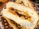 Рецепта Пане паскале - козунак с канела и сирене рикота